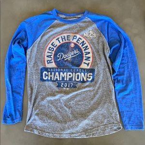 Dodgers long sleeved shirt